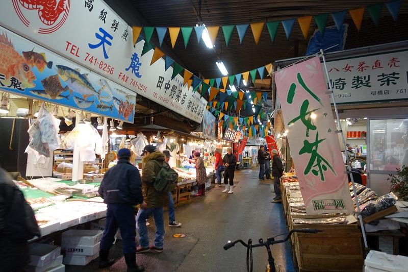 柳橋連合市場のおすすめグルメ!絶対に行ってほしい5店
