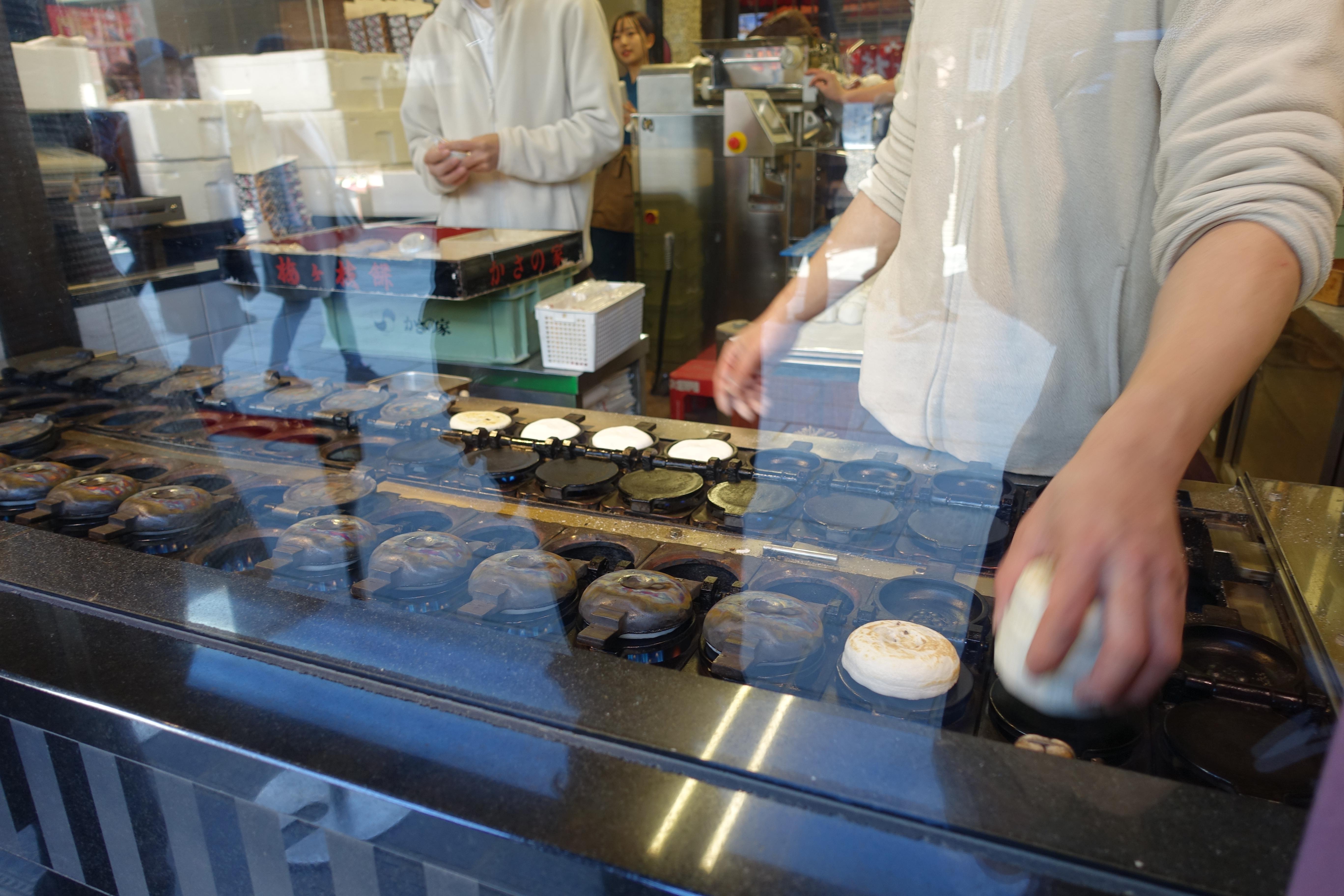 大宰府・かさの家の梅ケ谷餅