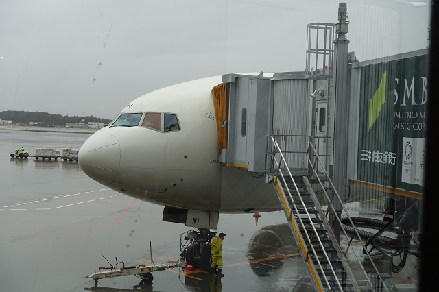 アリタリア航空の飛行機