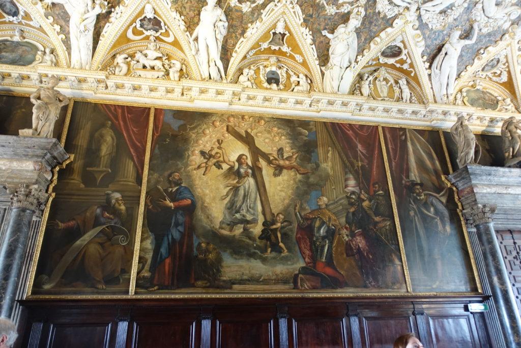 ヴェネティア・ドゥカーレ宮殿の内観