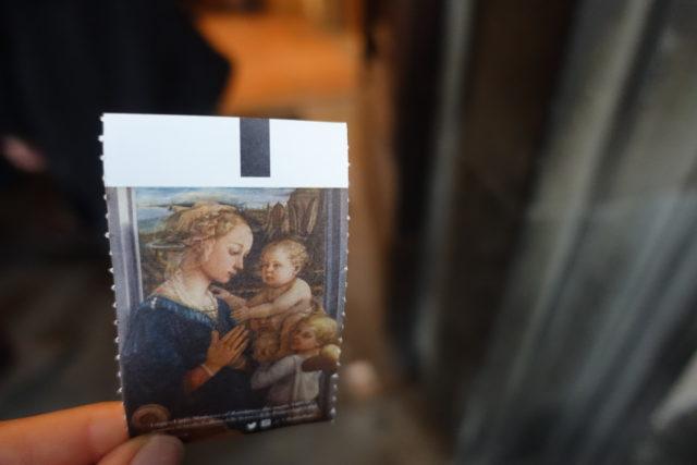 フィレンツェ・ウフィッツィ美術館のチケット