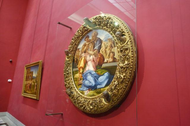 フィレンツェ・ウフィッツィ美術館の作品