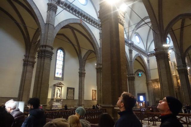 フィレンツェ・ドゥオモの内観