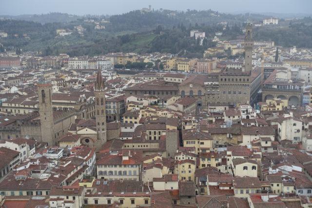 フィレンツェ・ドウォモからの景色