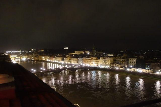 5つ星ホテル「ウェスティン・エクセルシオール・フィレンツェ」からの景色