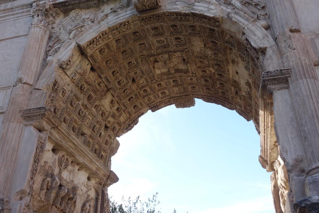 ティトス凱旋門のレリーフ