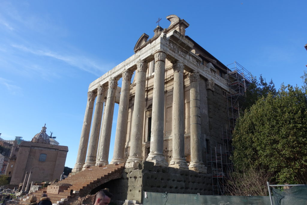 フォロロマーノの神殿