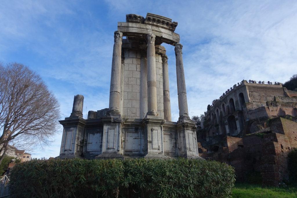 ローマの女神神殿遺跡