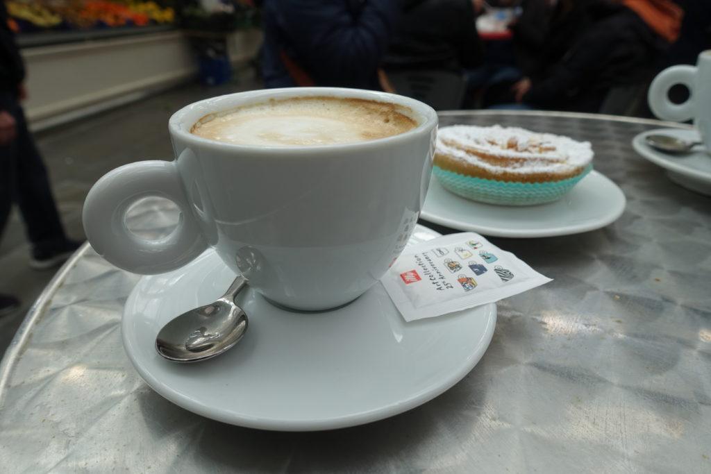イタリアの安いカフェ