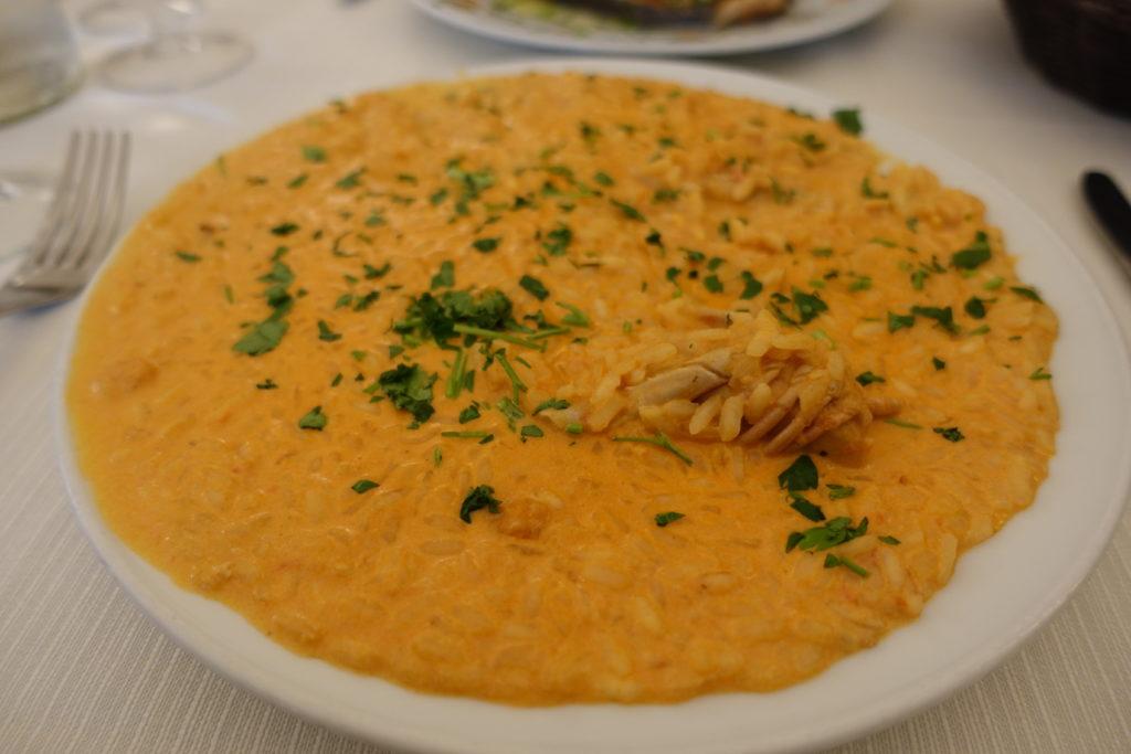 イタリア料理のトマトリゾット