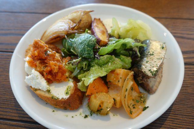 二日市「GOOD LIFE CAFE(グッドライフカフェ)」のランチ前菜