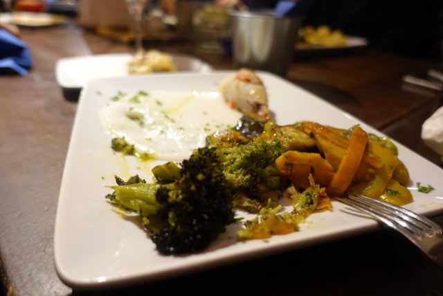 ヴェネティアのバーカロの料理