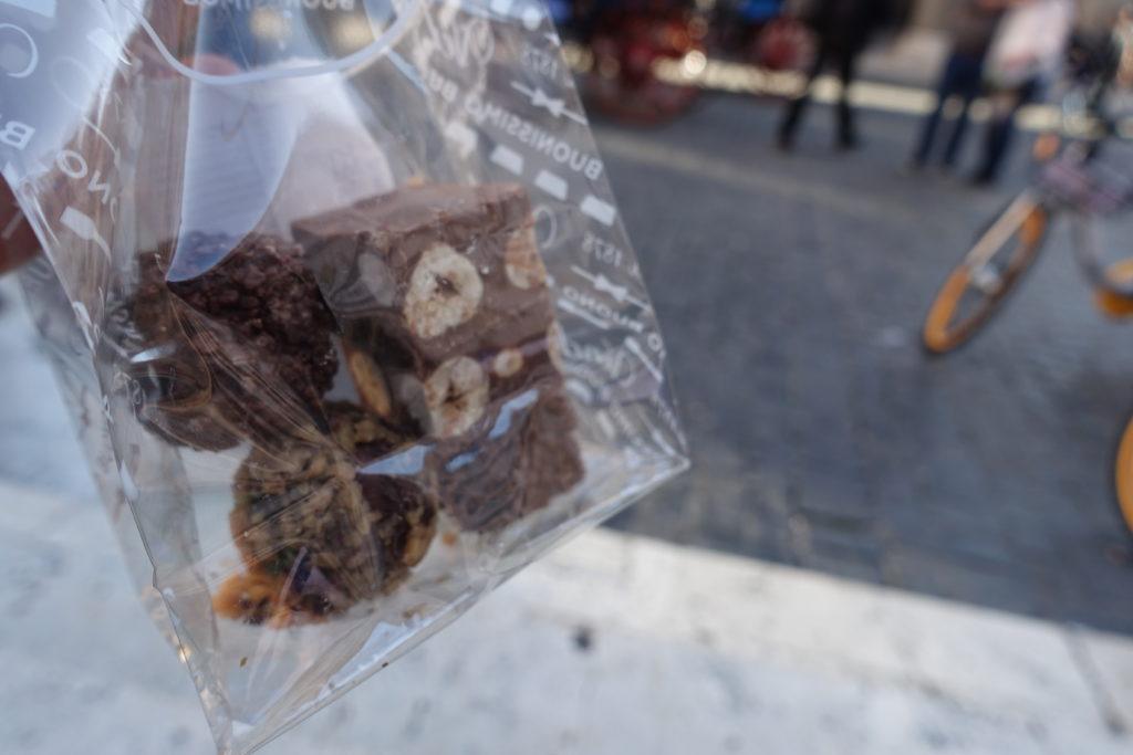 ローマ食べ歩きとチョコレート