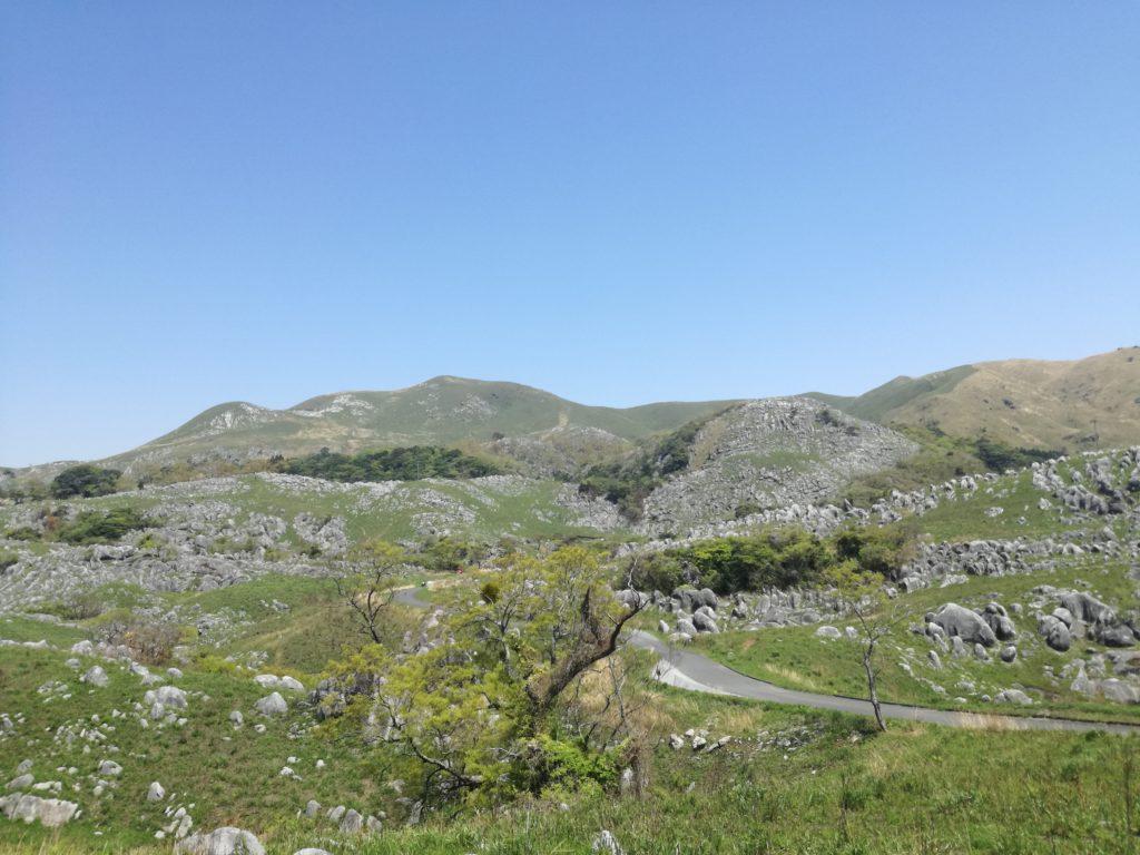平尾台「貫山」の登山ルート