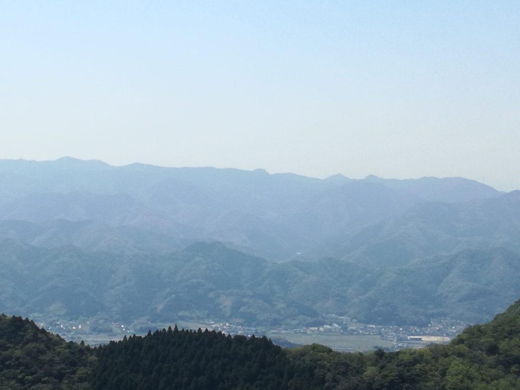 平尾台「貫山」の四方台からみた景色