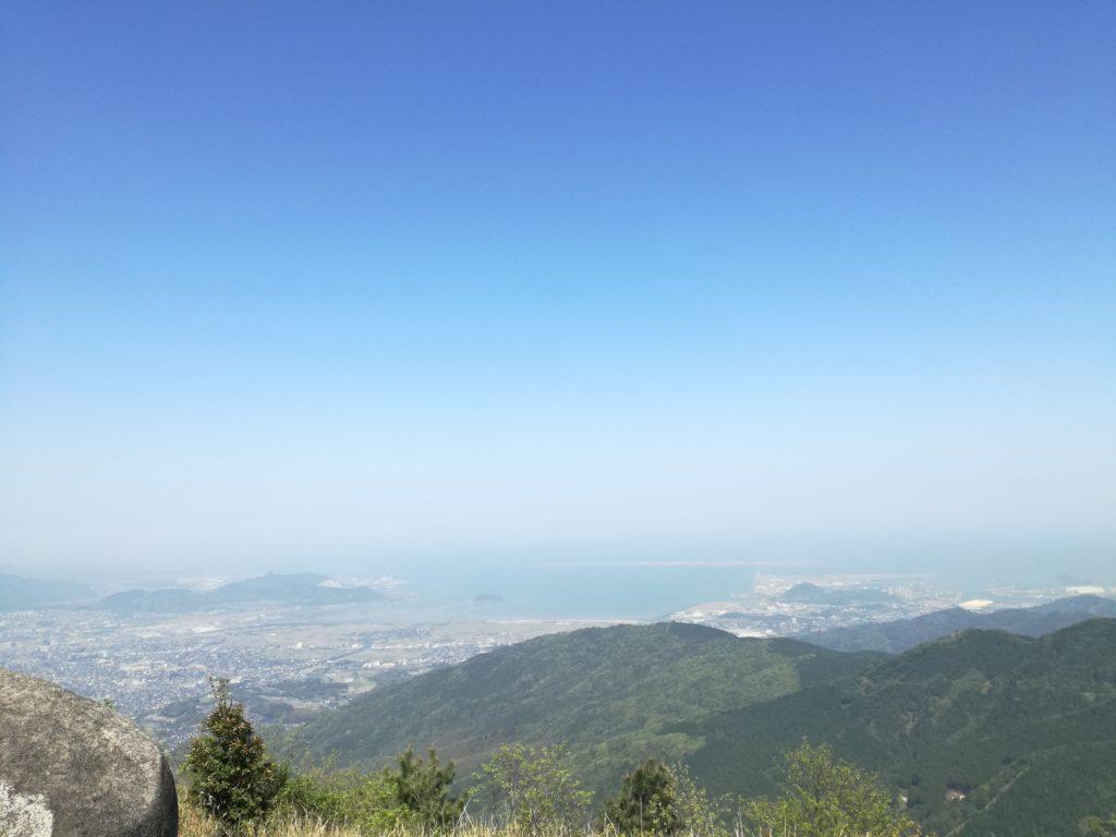 平尾台「貫山」の頂上
