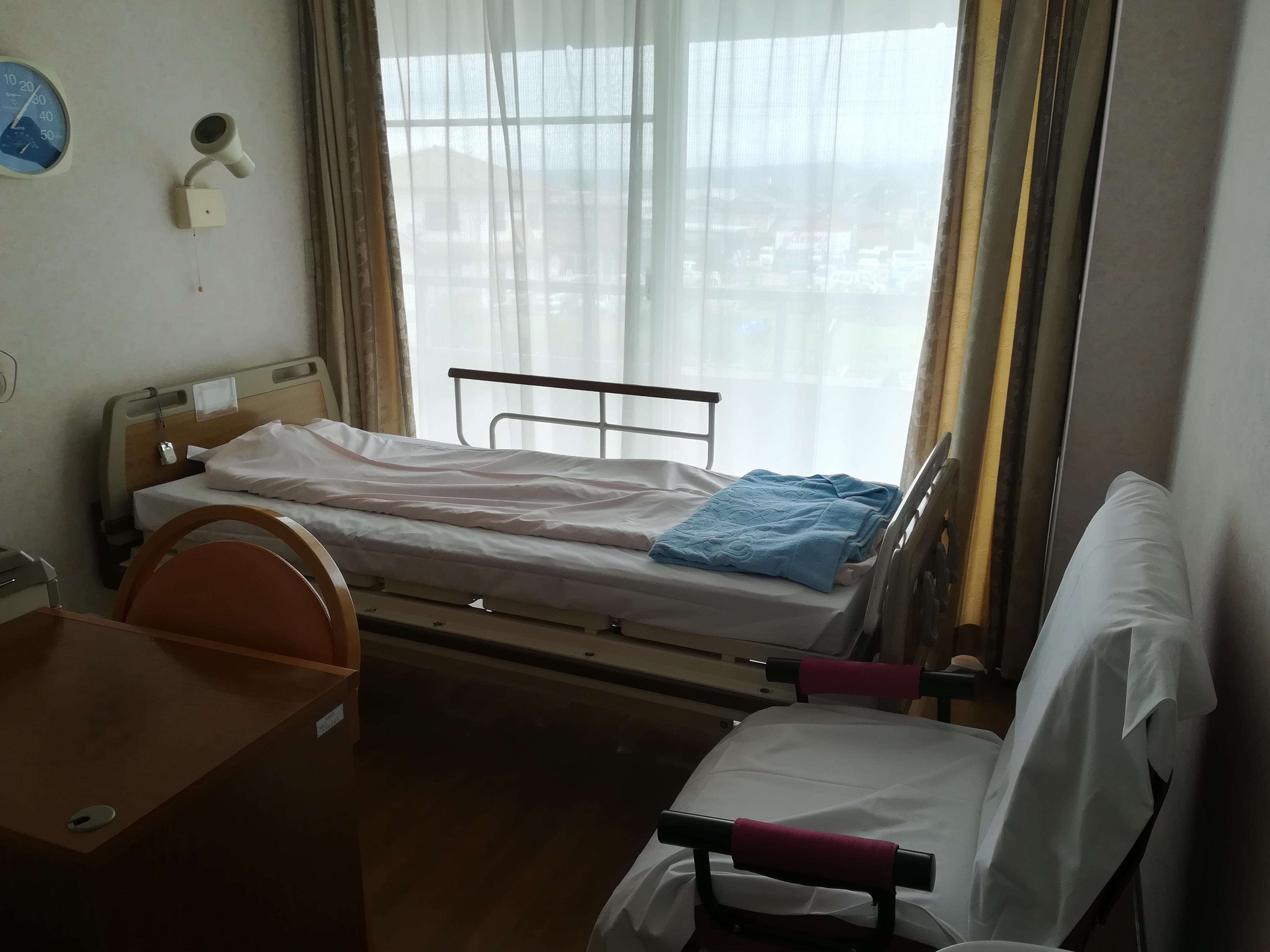 阿蘇温泉病院の産婦人科の個室