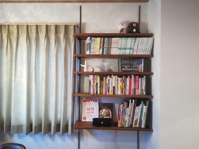 シンプルな本棚をDIY。リビング用に作ってみた